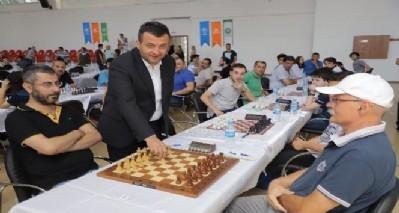 Çarşamba'da satranç turnuvası