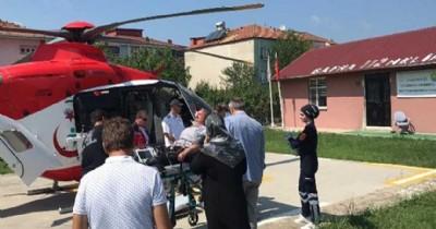 Başkan yardımcısına helikopterli müdahale
