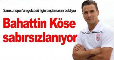 Samsunspor'un golcüsü lig için iddialı