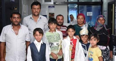 Tekkeköy'de 200 çocuk sünnet oldu