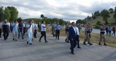 Vezirköprülüler 'Yol ver Ankara' dedi