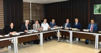 OMÜ'de güvenlik toplantısı