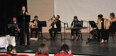 OMÜ'de Türk müziği konseri