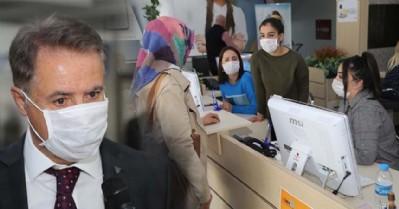 Farkındalık için maskeyle çalıştılar