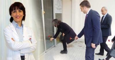 Görevi başında öldürülen doktor dualarla anıldı