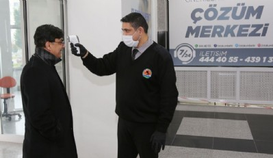 Atakum Belediyesi'nde virüs tedbiri