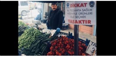 Canik'te pazarlara sıkı denetim