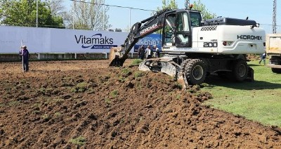 Samsunspor'un antrenman sahası yenileniyor