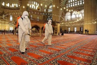 Samsun'da cami ve cemaat kuralları açıklandı