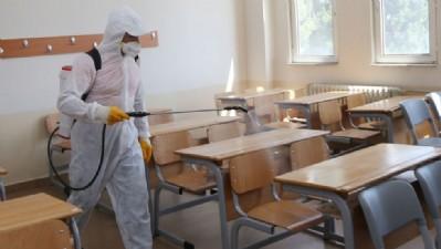 YKS öncesi dezenfekte