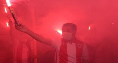 1000 meşale Samsunspor için yandı