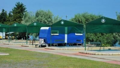 Karavan parkı açıldı