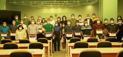 Virüs savaşçılarına teşekkür belgesi