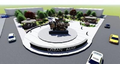 Lozan Parkı'na yeni çehre