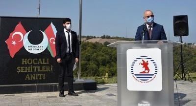 Azerbaycan'a OMÜ'den destek