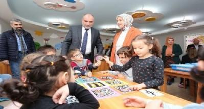 Canik'te okullara zeka oyunu seti