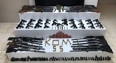 Silah operasyonunda 19 gözaltı