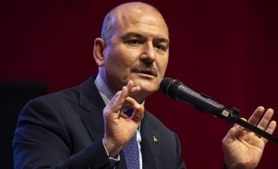 Bakan Süleyman Soylu hastanede korona tedavisinde