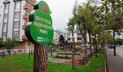 Şehit polisin ismi parkta yaşıyacak