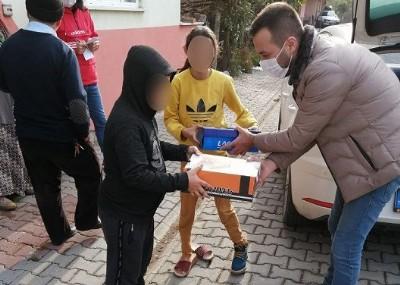 Terme CHP çocukları unutmadı