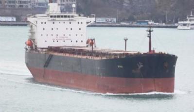 Karadeniz'de gemi battı