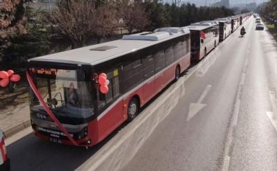 Zarar eden SAMULAŞ 22 Milyon TL'ye 33 otobüs aldı