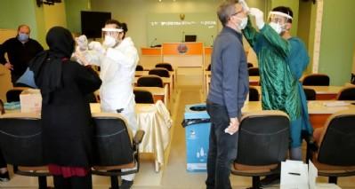 Belediye personeline PCR testi