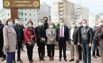 Hukukçuların adı Atakum'da yaşayacak