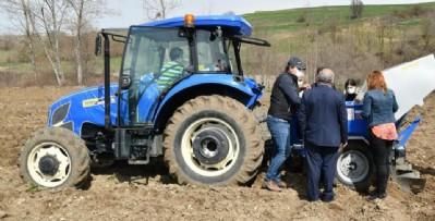 Üreticiye tohum desteği