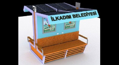 İlkadım'a güneş enerjili bank