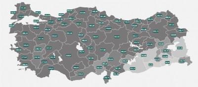 Samsun'da günde 933 pozitif vaka
