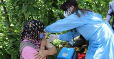 8 bin kişi 'ikna' ile aşı oldu