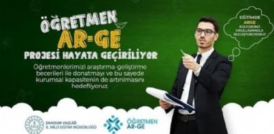 Öğretmenler için Ar-Ge projesi