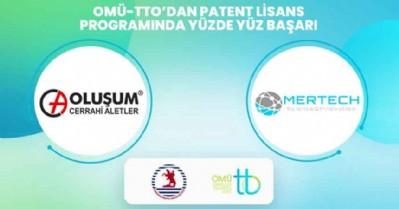 Patent Lisans programında yüzde 100 başarı