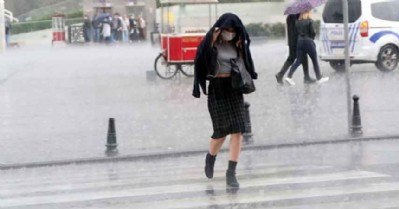 3 gün boyunca yağmur var