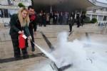 Büyükşehir Belediyesi'nde yangın tatbikatı