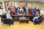 Samsun AK Parti, Başkan Topbaş'ı ağırladı