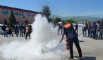 Büyükşehir'de sivil savunma eğitimi