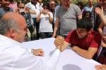 Mahmut Demir'den engellilere şölen