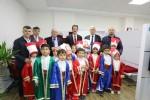 Derebahçe'de mehterli sergi açılışı
