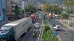 Ordu'da MOBESE'ye yansıyan kazalar şaşırtıyor