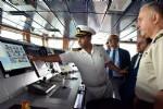 'Tcg Bayraktar' Samsun'a çıkarma yaptı