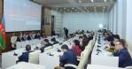 Kurt, Azerbaycan'da konferansa katıldı