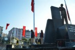 Bafra'da 10 Kasım anma töreni