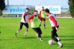 Samsunspor'da kupalı antrenman