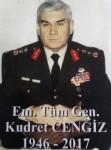Emekli Tümgeneral son yolculuğuna uğurlandı