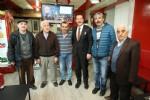 Başkan Tok, Ağabali Caddesi esnafını gezdi