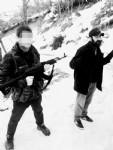 Terörist yer gösterdi, patlayıcılar ele geçirildi