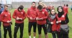 Futbolculardan Afrin'deki askerlere destek mesajı