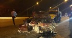 Samsun'da kahreden kaza